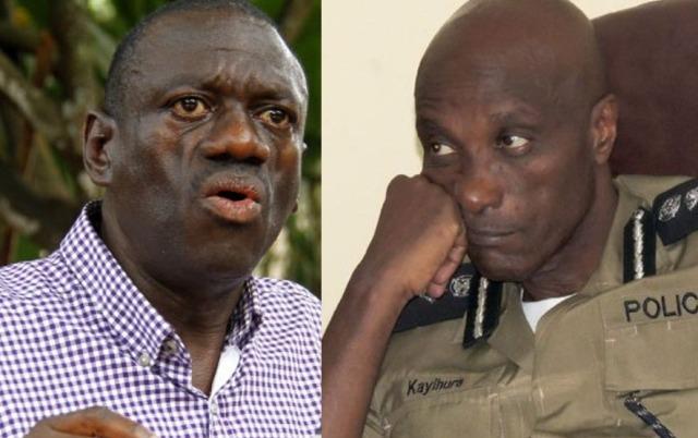 Kizza Besigye speaks, blasts IGP Gen Kale Kayihura after the arrest