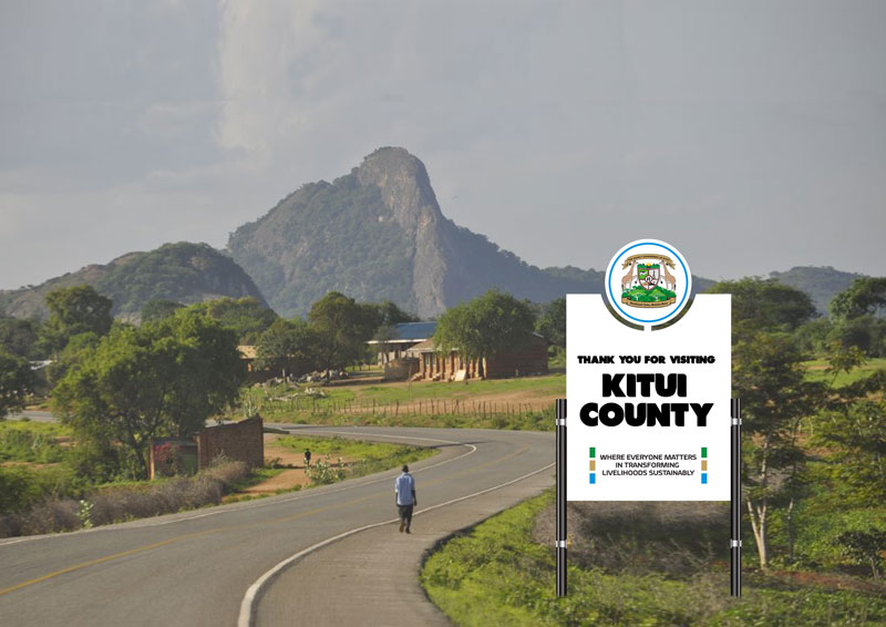 sub counties kitui county