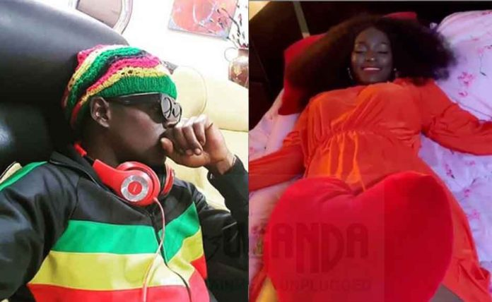 Winnie Nwagi King Saha Sleeping Together