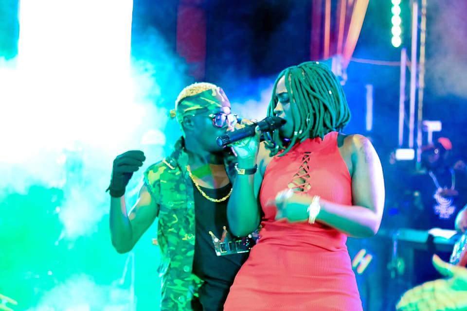 Winnie Nwagi and King Saha Sleeping Together
