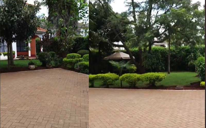 5 photos of Comedian Jalang'o Mansion House in Nairobi.