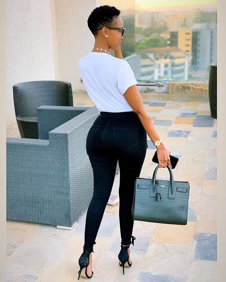 Huddah Monroe baby photos and pictures