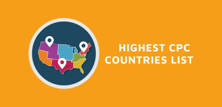 Highest Paying Adsense CPC Country/ Countries 2021 TOP List