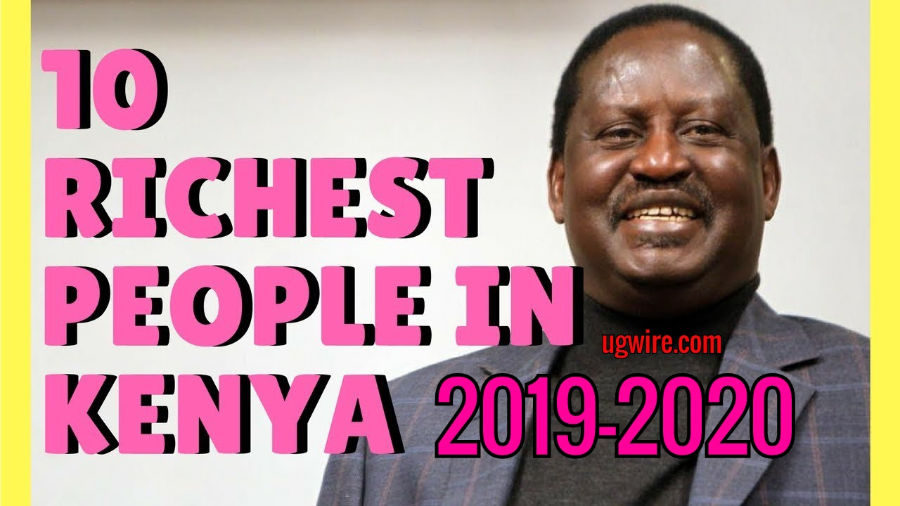 Top Richest people in Kenya 2020 2021