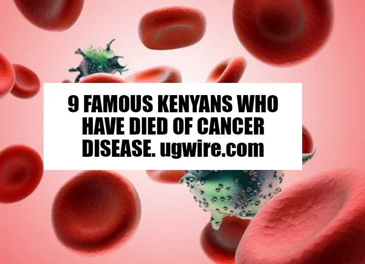 Kenyans who have died of cancer 2019 2020