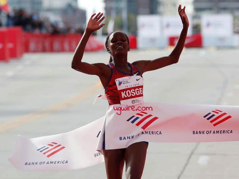 Kenyan Brigid Kosgei Breaks Women Marathon World Record