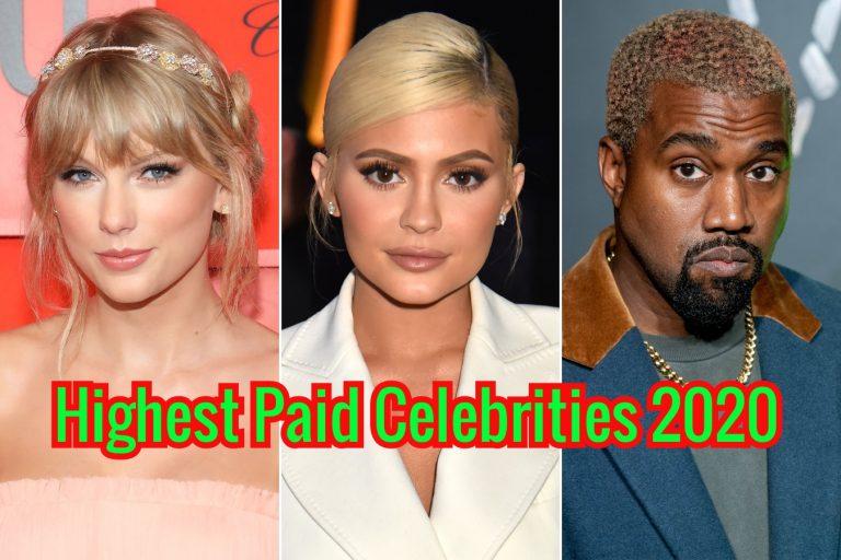 Forbes Highest Paid Celebrities 2020 World List
