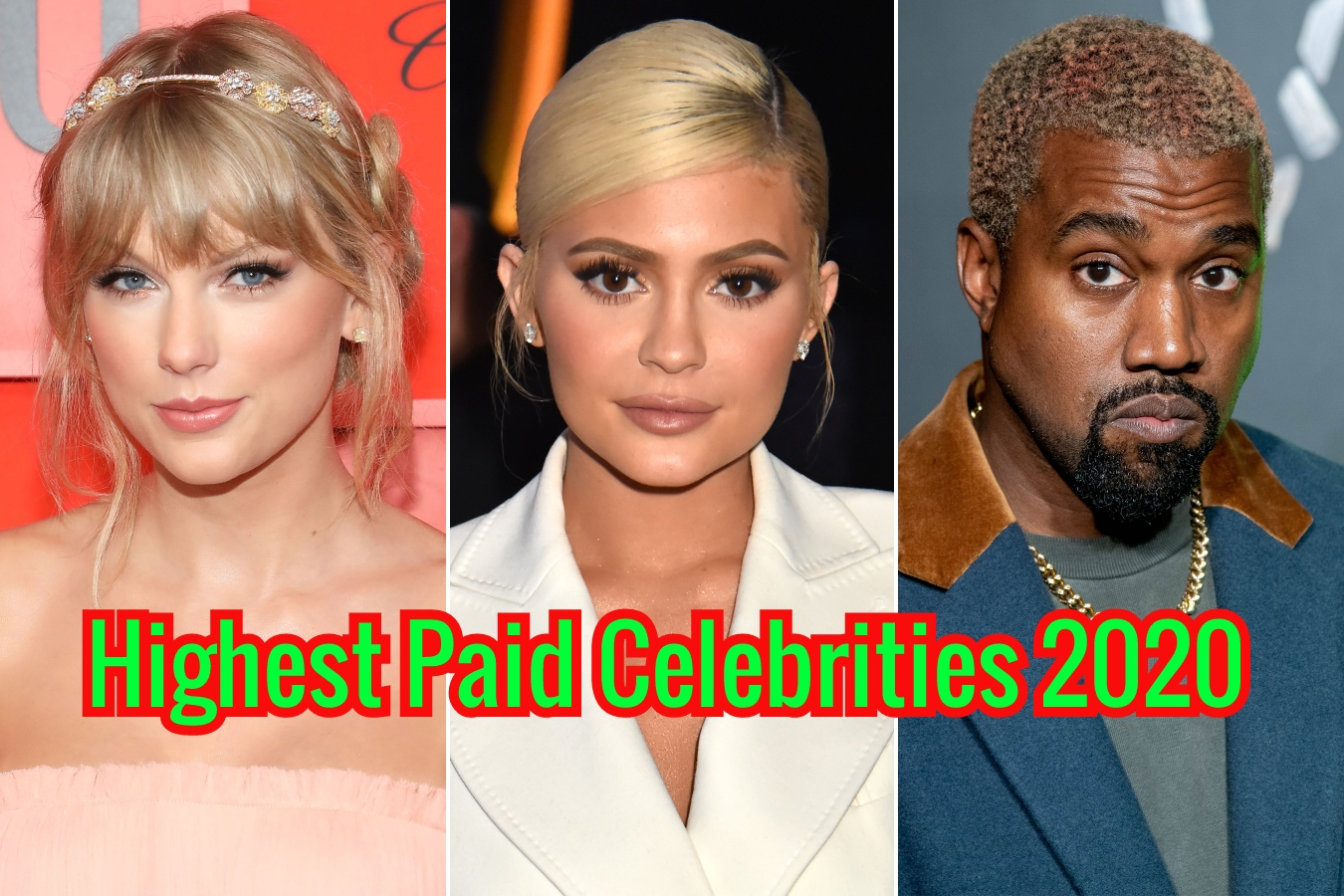 Highest Paid Celebrities in the World 2020