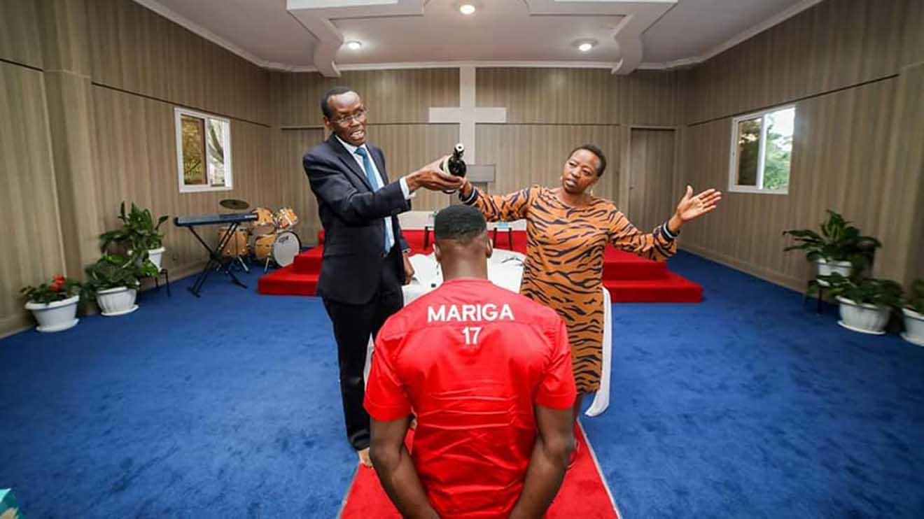 Rachel Ruto Hosts Prayers For McDonald Mariga