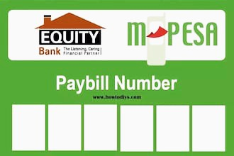Mpesa to Equity Bank Paybill Charges 2021