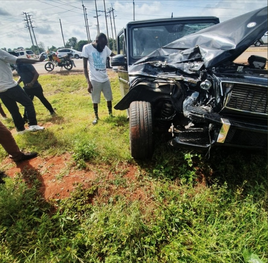 Shaffie Weru Road Accident News Reports and PHOTOS 2019