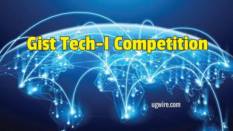 GIST Tech-I Competition 2020 Technologygist pdf