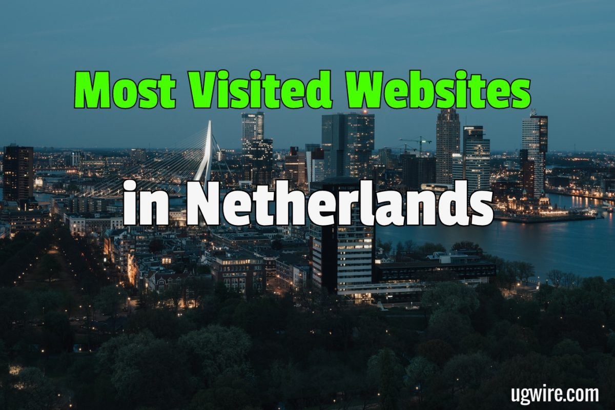 Most Visited Websites in The Netherlands