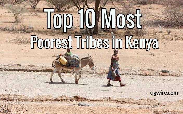 Top 10 Most poorest tribes in Kenya