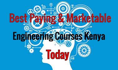 Best Paying Marketable Engineering Courses in Kenya Today