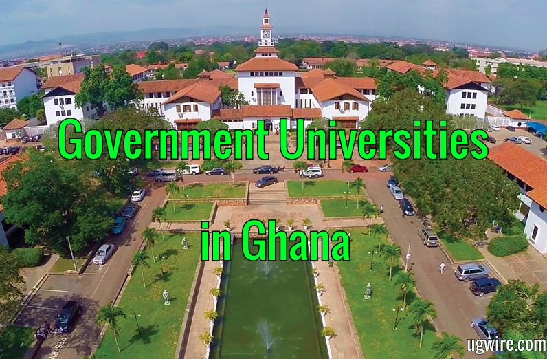 Government Universities in Ghana and Their Fees Today