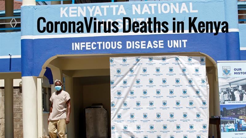 Coronavirus Deaths in Kenya: Covid-19 in Kenya Now