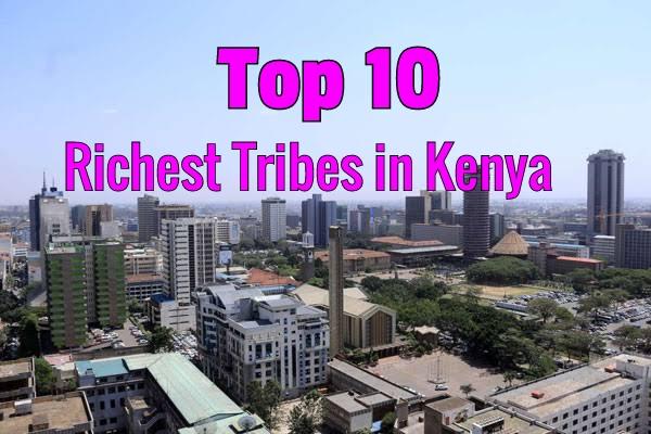 Richest Tribes in Kenya