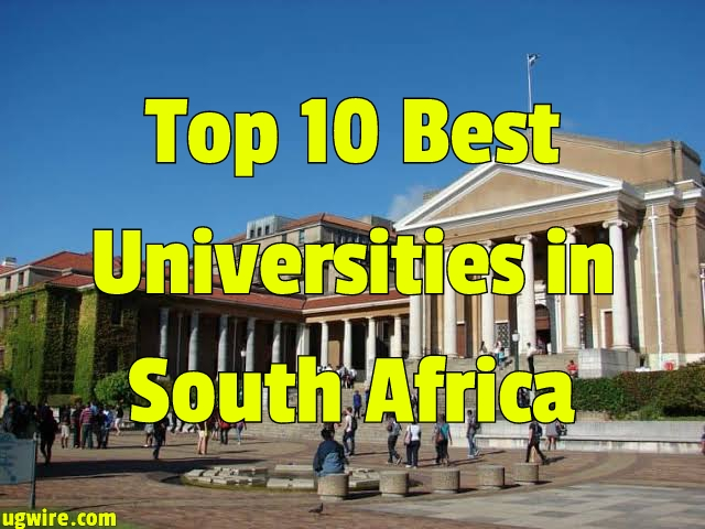 Top 10 Universities in South Africa 2021 University Rankings