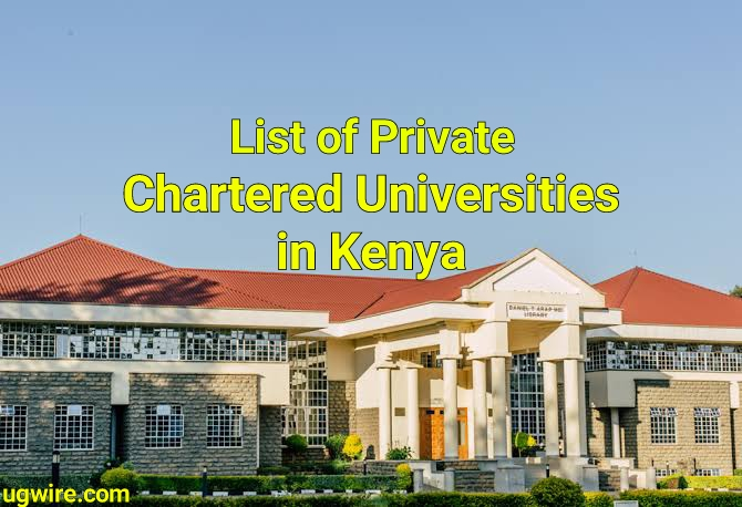 List of Chartered Private Universities in Kenya 2021