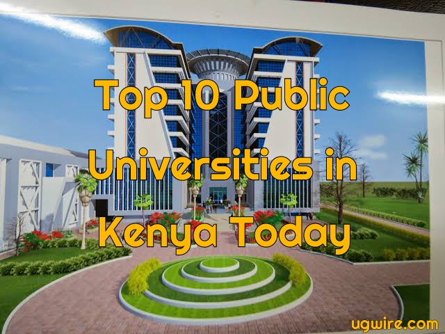 Top 10 Public Universities in Kenya 2020 pdf