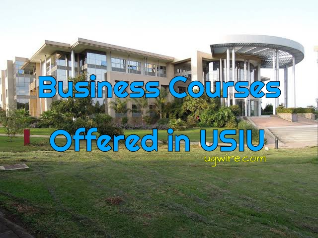 Business Courses Offered in USIU University Kenya