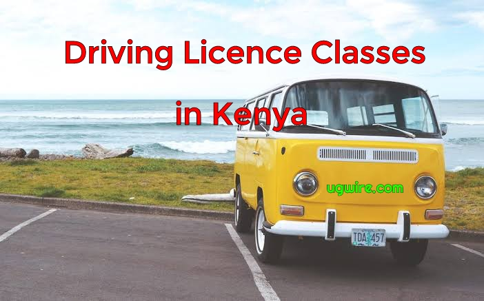 Driving Licence Classes in Kenya Today (NEW)