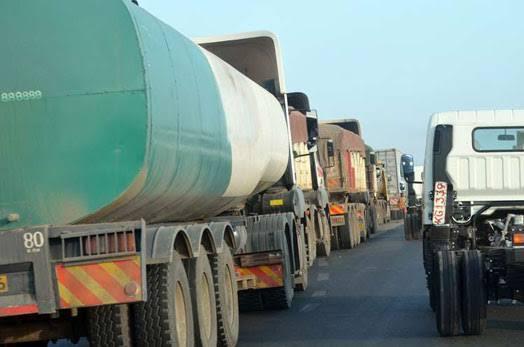 Gas Cylinders Truck Accident in Gwa-Kairu Ruiru