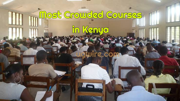 Most Crowded Courses in Kenya Today (List)