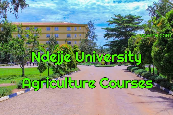 Ndejje University Agriculture Courses