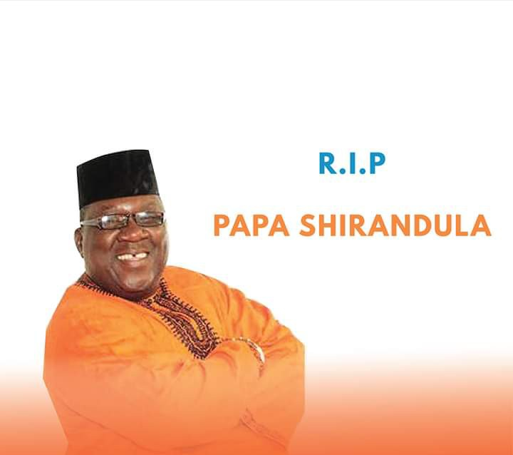 Papa Shirandula Death Caused by Coronavirus (COVID-19)