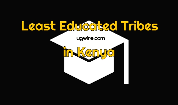 Least educated tribes in Kenya