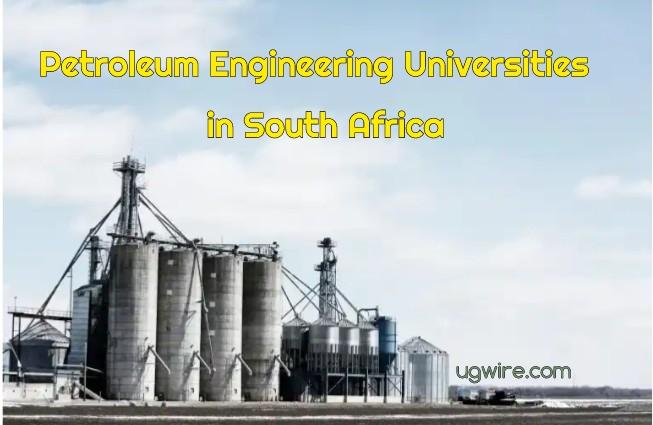 Petroleum Engineering Universities in South Africa