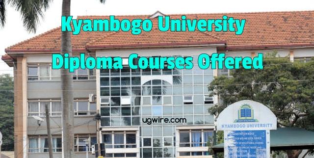 Kyambogo University Diploma Courses 2021 PDF