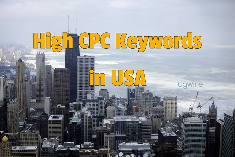 High CPC Keywords in USA 2021