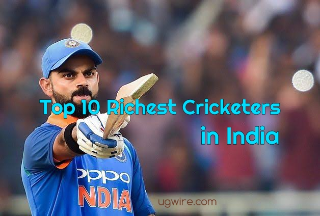 Top 10 richest cricketer in India 2021