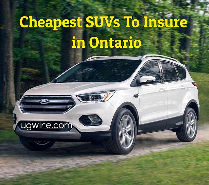 Cheapest SUV to insure in Ontario 2021
