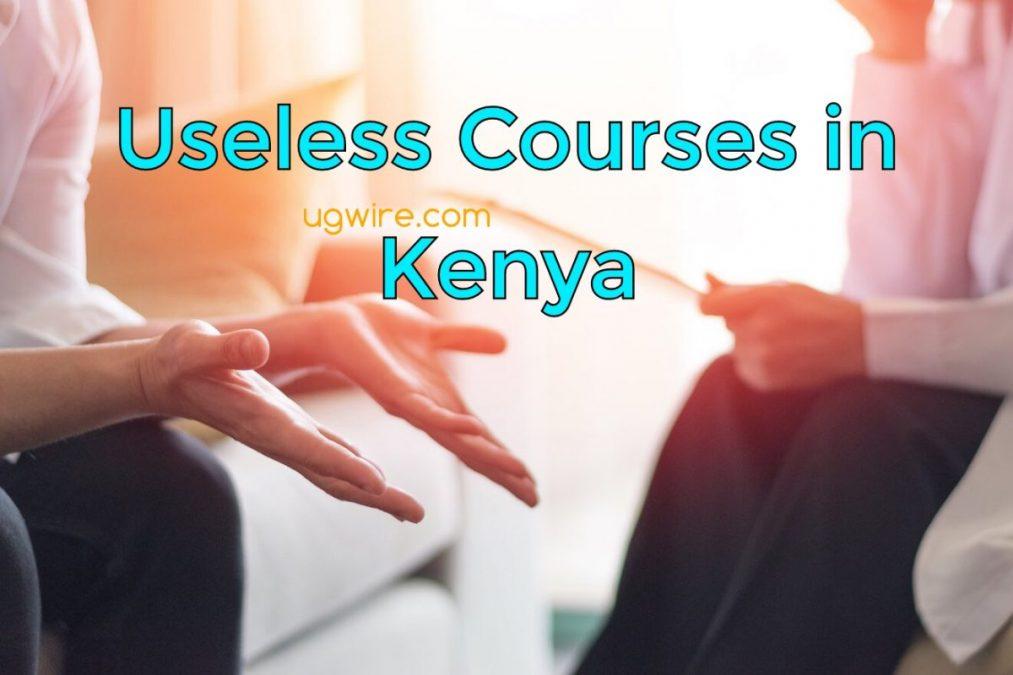 Useless Courses in Kenya Universities 2021 Today (List)