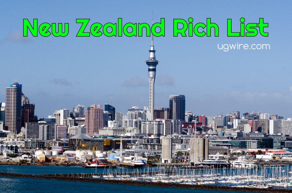 New Zealand NBR rich list 2021