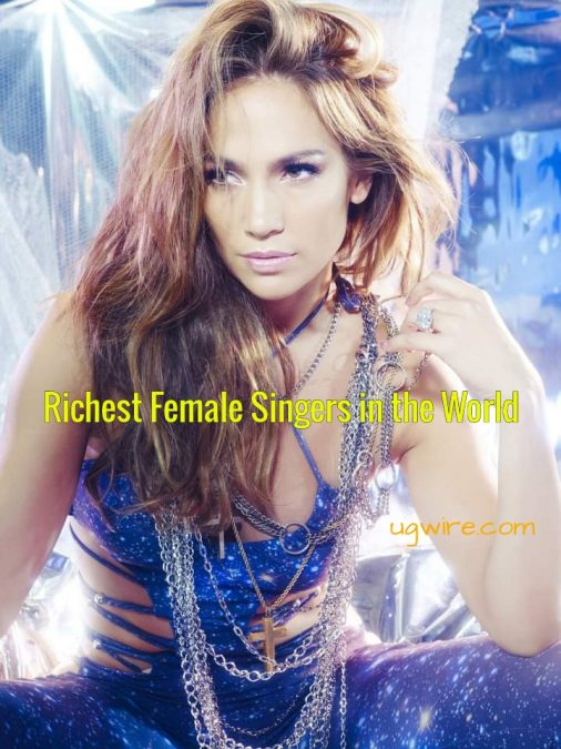 Top 10 richest female musicians in the world 2021 Forbes