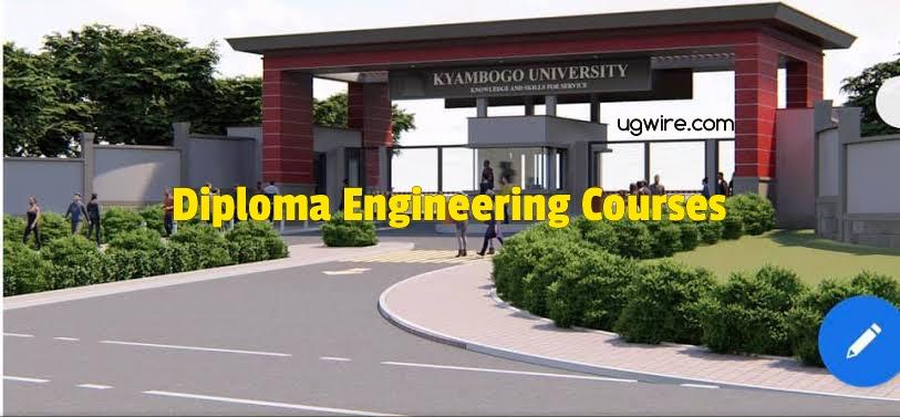 Diploma Engineering courses at Kyambogo University 2021