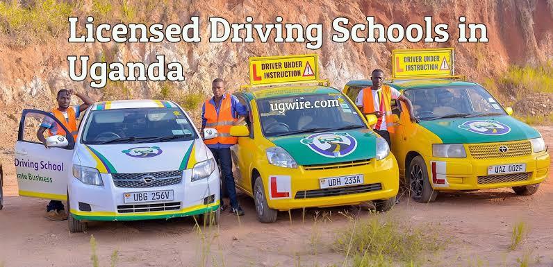 Licensed Driving Schools in Uganda 2021