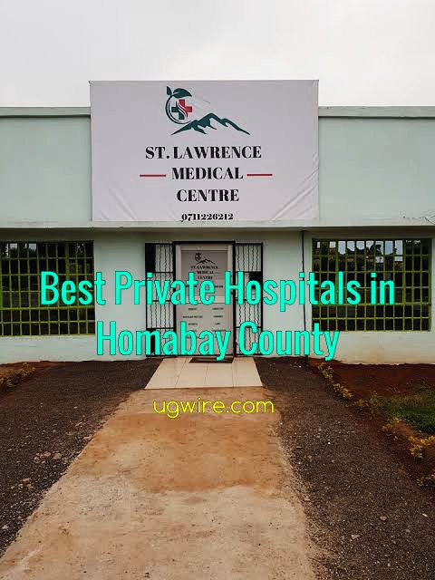 Top 10 best private hospitals in Homa Bay County 2021