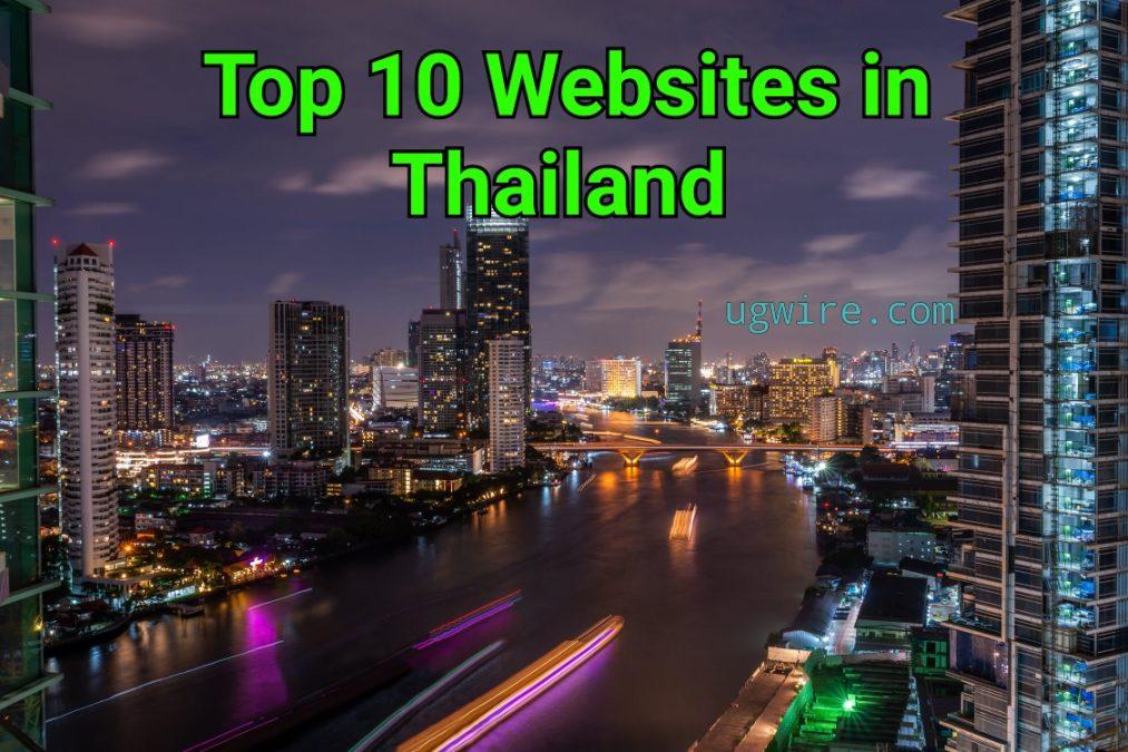Top 10 websites in Thailand 2021